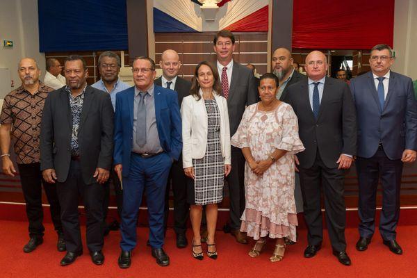 Le 16e gouvernement présidé par Thierry Santa