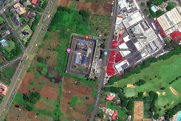 Prison La Bastille à Vacoas à l'île Maurice
