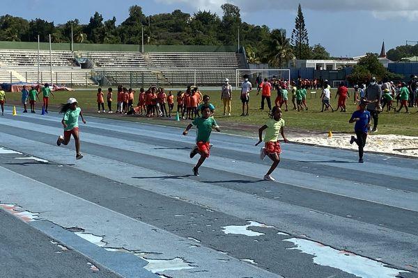 Semaine olympique et paralympique enfants abymes