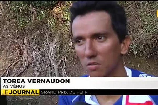 Torea Vernaudon vainqueur du grand prix Fei pi de cyclisme