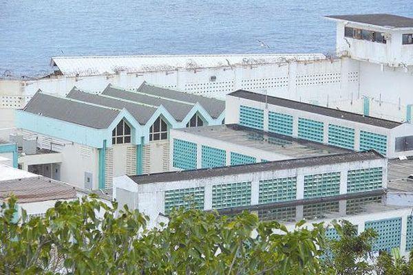 prison de Pointe Blanche à Sint Maarten