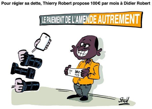 Le dessin de Souch : Thierry Robert 100 €