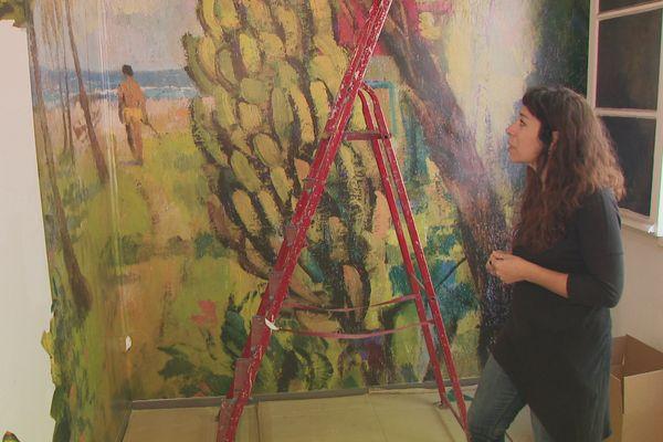 Mariana Molteni explique le tableau de Louis Macouillard