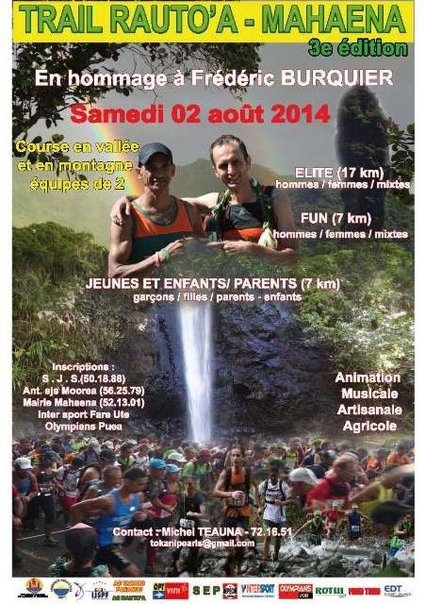 affiche trail 2014