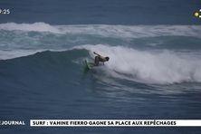 Mondiaux de surf : dynamique gagnante pour  Vahine Fierro