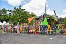 Décors de la journée consacrée aux enfants, à l'ouverture du festival culturel de Fort-de-France (juillet 2020)