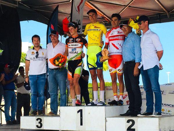 Tour cycliste 2019, Julian Lino en jaune au Mont-Dore