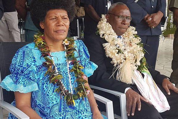 Tallis Obed Moses président du Vanuatu (6 juillet 2017)
