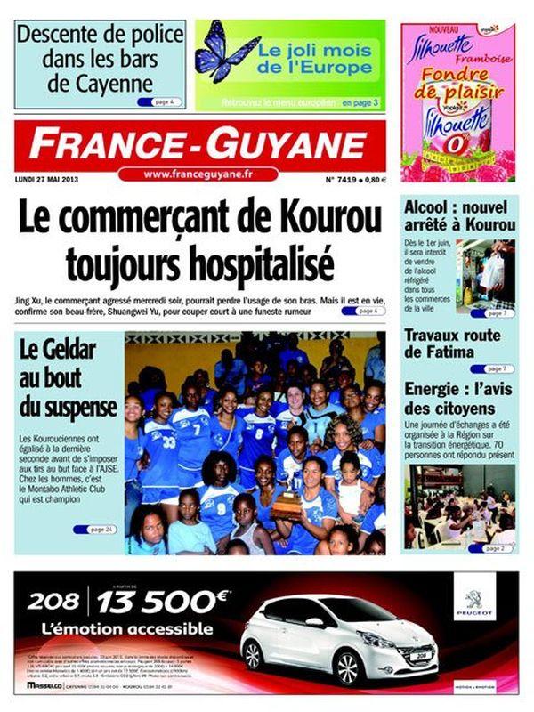 Uen France Guyane 27/05