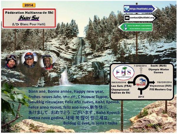 Voeux fédé haitienne de ski