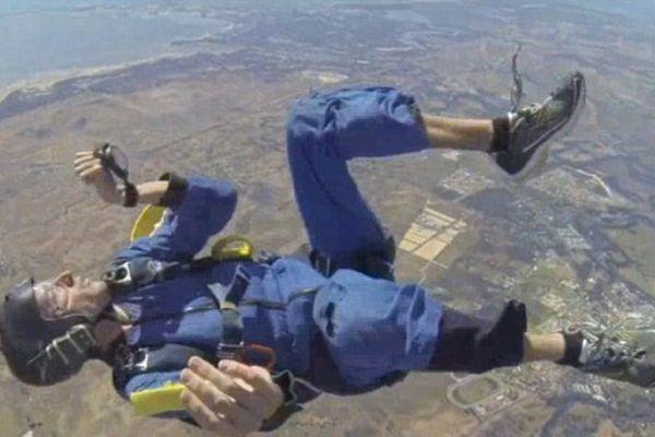 Crise épilepsie parachute