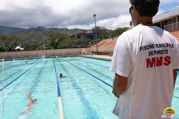 Fermeture annuelle de la piscine municipale de Tipaerui