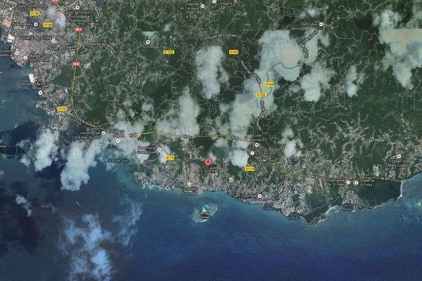 Le Gosier - maps