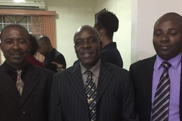 Les membres du Collectif pour Haïti