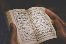 Islam-livre de prières.