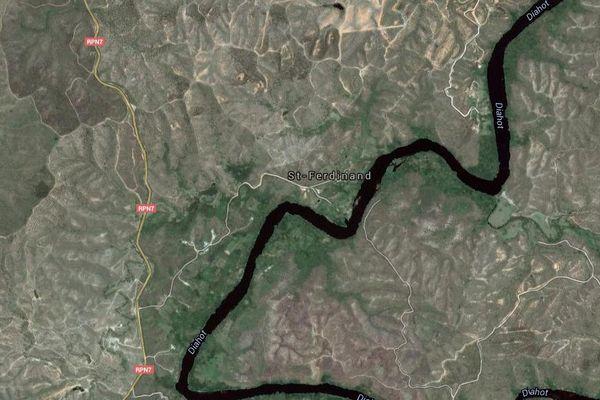 Ouégoa google map