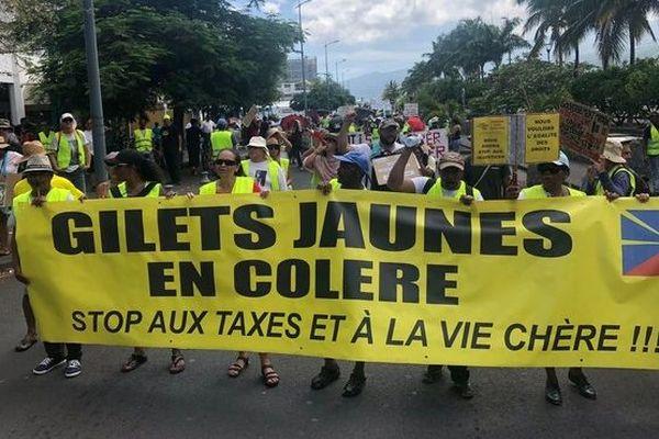 Gilets Jaunes rassemblement Saint-Paul 020319