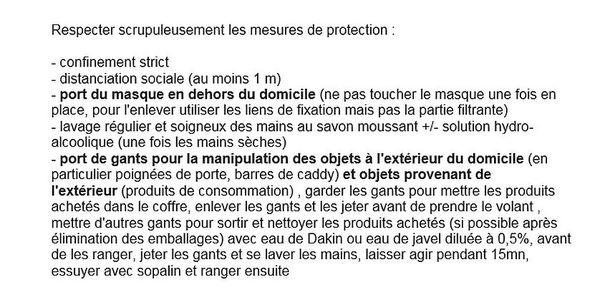 recommandations affichés dans des cabinets médicaux de La Réunion