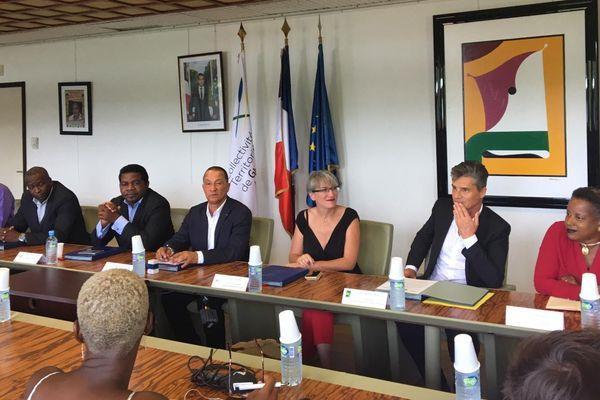 Les signataires du protocole accord ARS/CTG/IFSI/UG 3 5 19