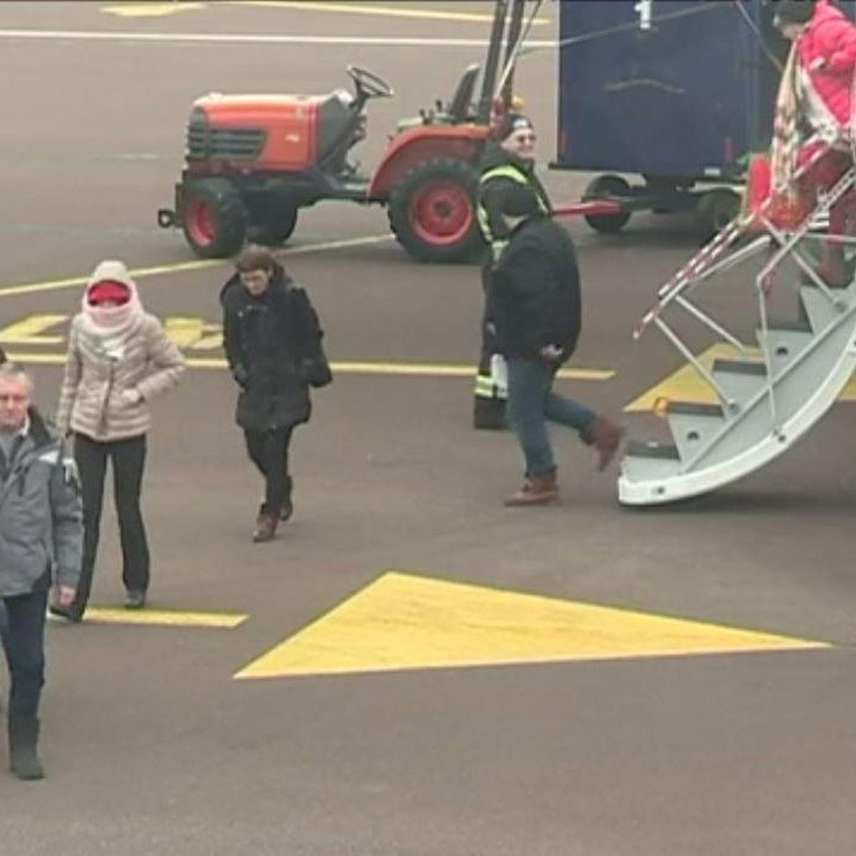Tempête de neige : les voyageurs bloqués à Saint-Jean sont de retour