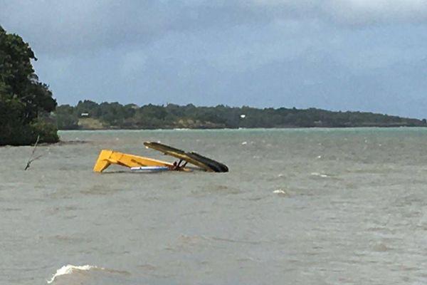 Hydravion abîmé en mer Sainte-Rose