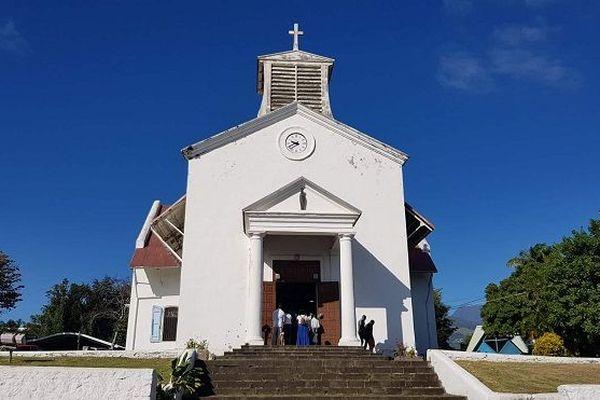 La messe de l'Assomption à Sainte-Marie.