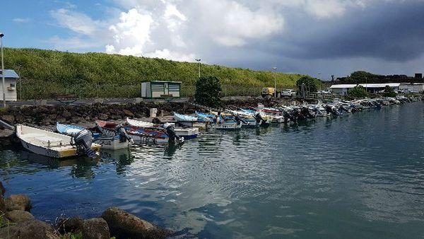 20170205 Situation au port de Sainte-Marie