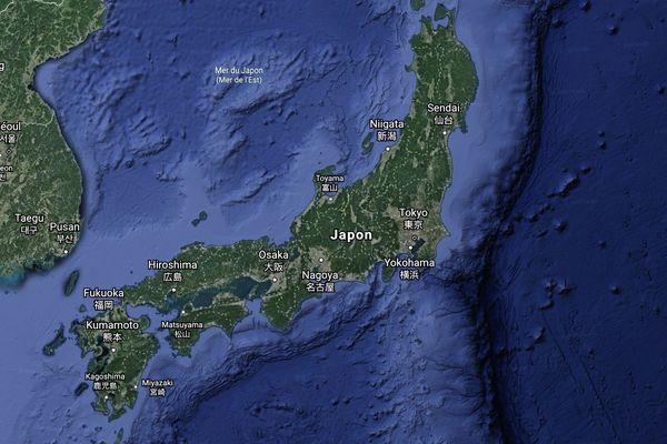 Japon Google Earth