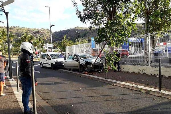 Accident Rue Poivre 1 novembre 2020