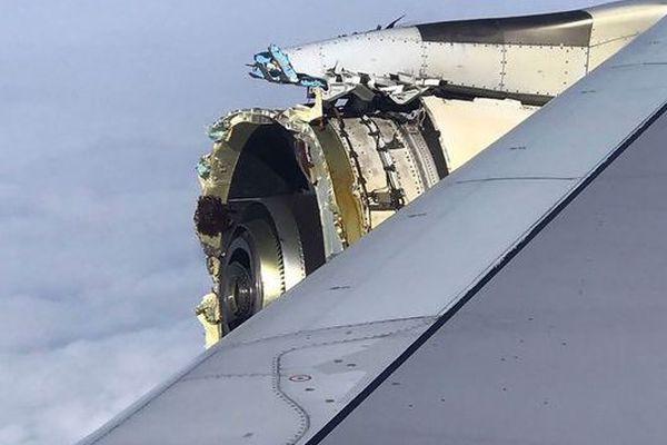 Atterrissage d'urgence d'un A380 après une avarie moteur