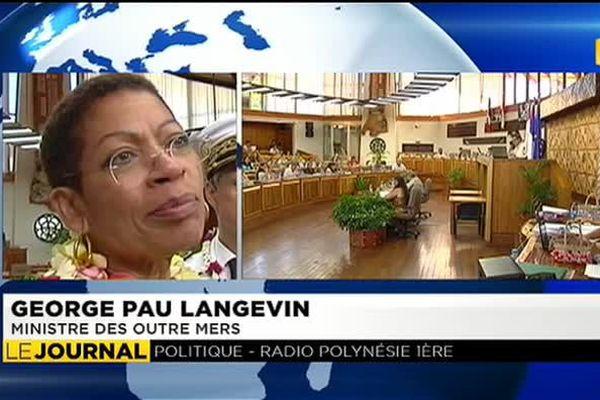 Pas question de dissoudre l'Assemblée pour George Pau Langevin