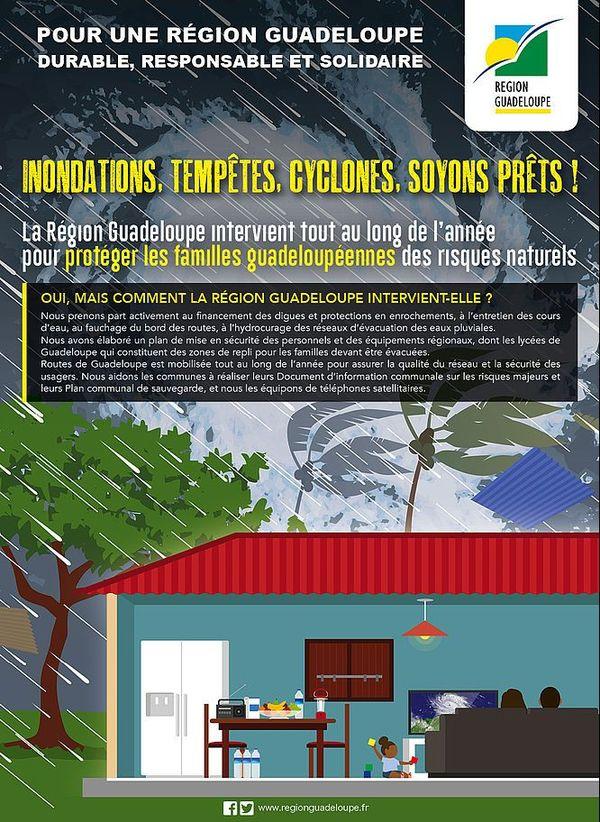 Région Guadeloupe risques