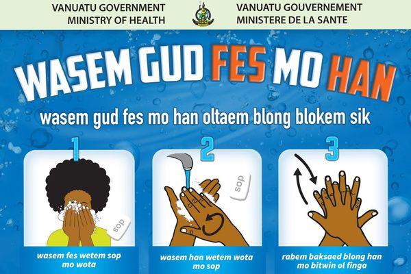 Campagne su rle Covid-19 au Vanuatu