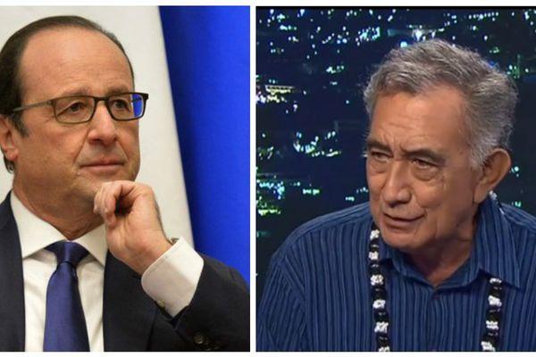 François Hollande prévoit de rencontrer Oscar Temaru à la mairie de Faaa