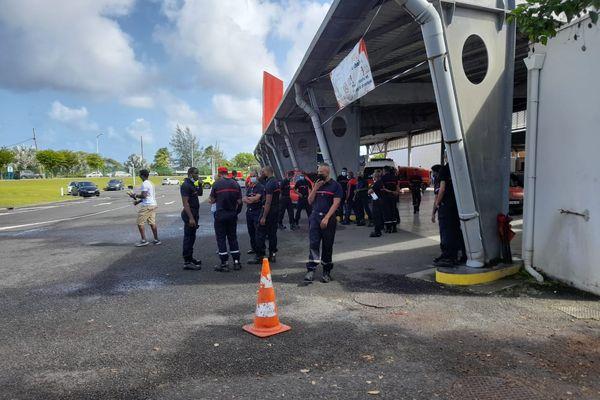 Grève pompiers Dothémare