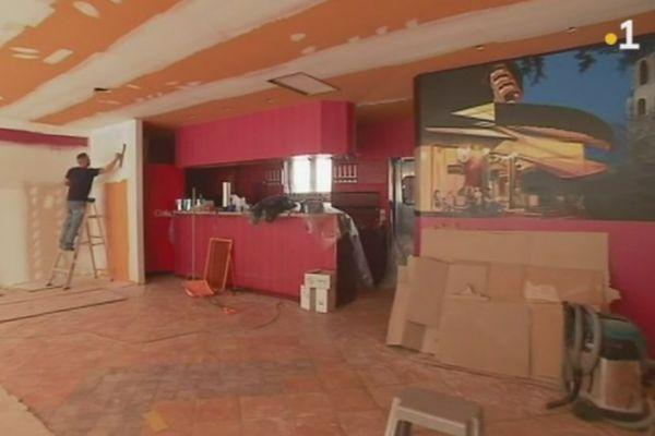 restaurants feu de braise travaux
