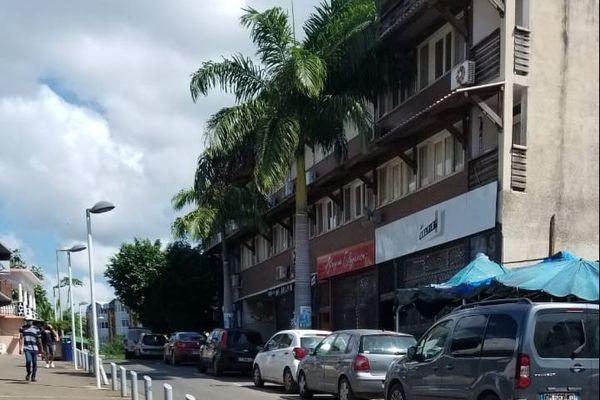 Mamoudzou rue de commerce