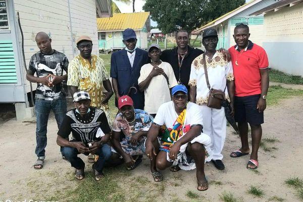 Les chefs coutumiers réunis pour la première édition de cette journée culturelle