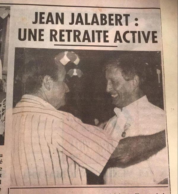 Jean Jalabert aux côtés de J. Lafleur