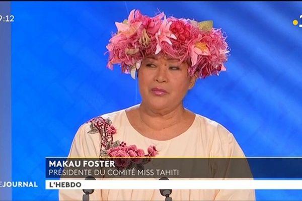 Invité de l'hebdo : Makau Foster, Présidente du Comité Miss Tahiti