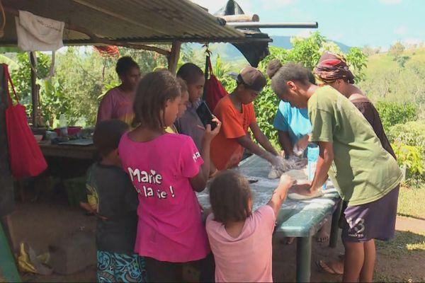 préparation repas tribus