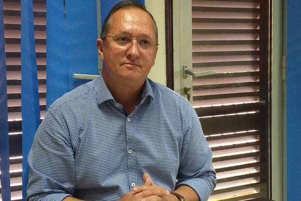 David Riché, maire de Roura