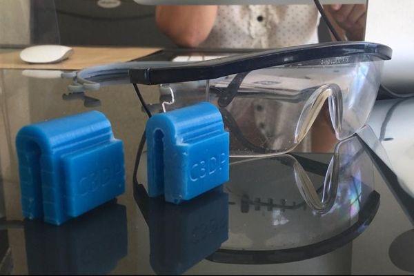 visières de protection imprimantes 3D
