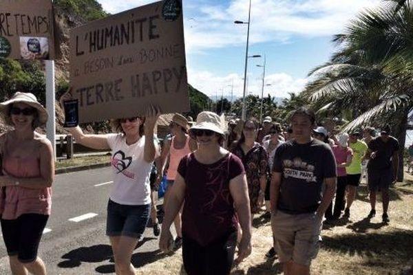 Mobilisation à Nouméa Marche pour le climat
