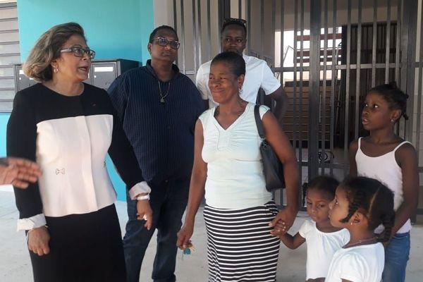 """Cayenne : réception et inauguration des logements """"les jardins de Jasmin"""""""
