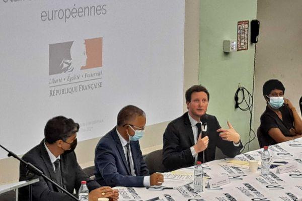 Visite du Secrétaire d'Etat aux affaires européennes