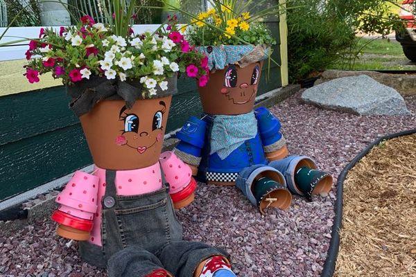 pot de fleurs floradécor