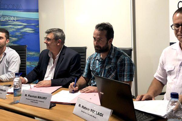Conférence de presse crédit d'impôt pour l'export, 12 juin 2018