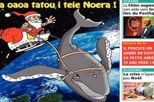"""La Une des """"Nouvelles de Tahiti"""" du mardi 24 décembre 2013"""