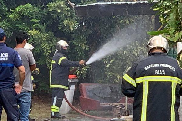 incendie pompiers faa'a
